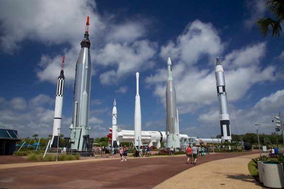 The Rocket Garden