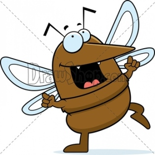 RF-Graphic-from-DrawShop-A-happy-cartoon-mosquito-dancing-and-smiling.-7385-35