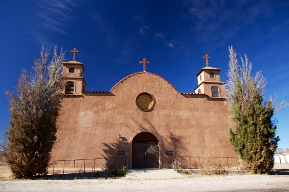 Church, San Antonio, N. M.