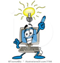 computer light